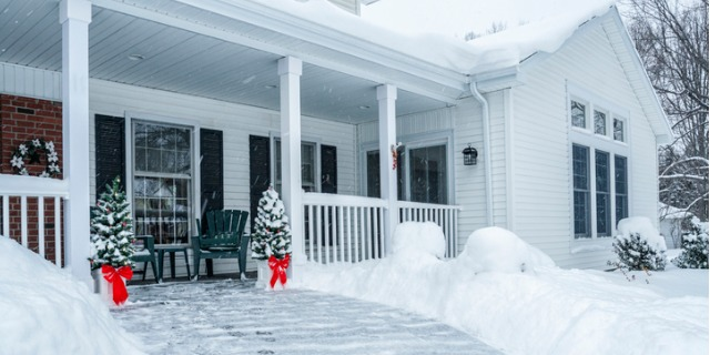 Winter and selling your home